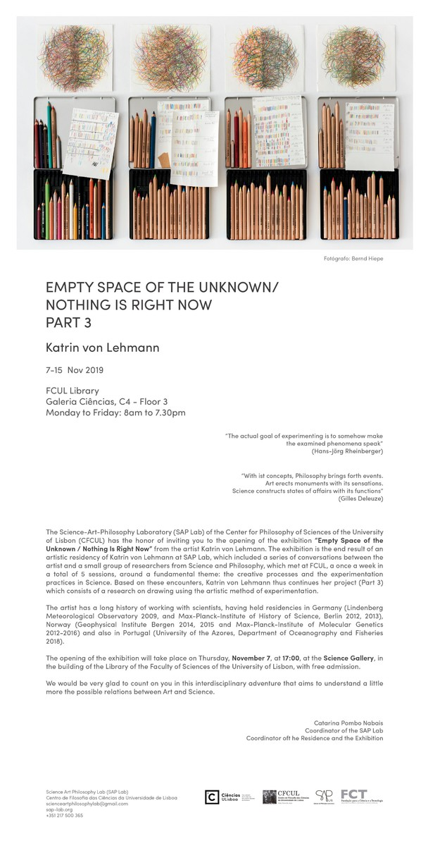 Empty Space of the Unknown/Nothing Is Right Now, Part 3 Bild 1